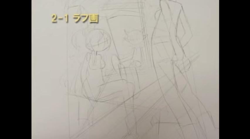 001コピー用紙に描く