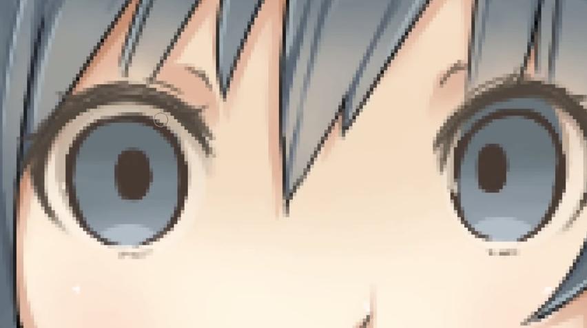 003驚いた目の描き方