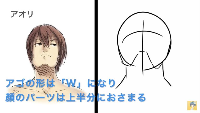 顔の描き方講座_by_shori_|マンガ・イラストの描き方講座:お絵描きのPalmie(パルミー)_-_YouTube 11