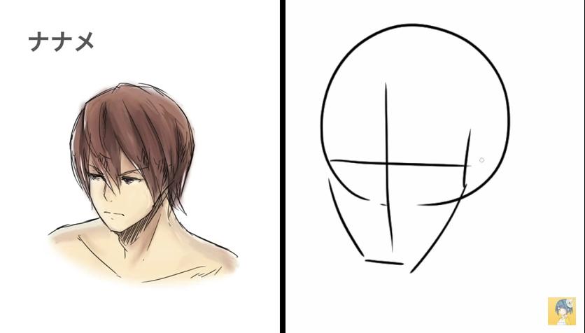 顔の描き方講座_by_shori_|マンガ・イラストの描き方講座:お絵描きのPalmie(パルミー)_-_YouTube 8