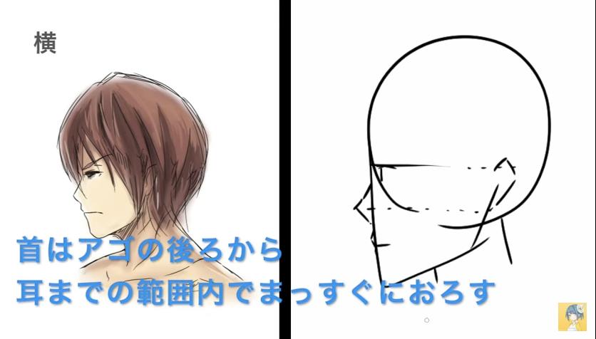 顔の描き方講座_by_shori_|マンガ・イラストの描き方講座:お絵描きのPalmie(パルミー)_-_YouTube 7
