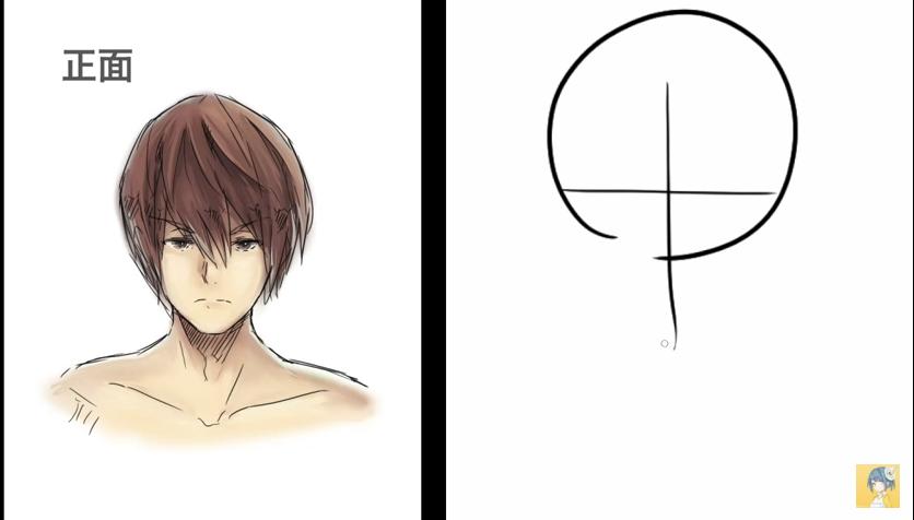 顔の描き方講座_by_shori_|マンガ・イラストの描き方講座:お絵描きのPalmie(パルミー)_-_YouTube 2