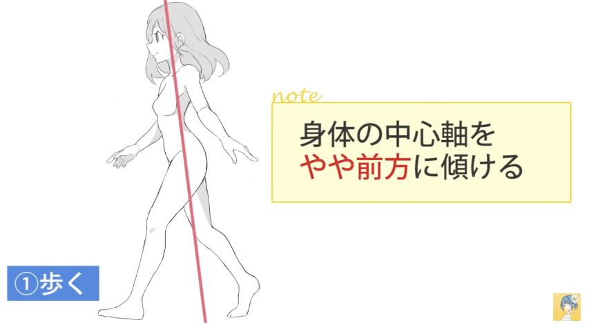 動きのあるポーズをマスターする!キャラクター講座|マンガ・イラストの描き方講座:お絵描きのPalmie(パルミー)_-_YouTube 10