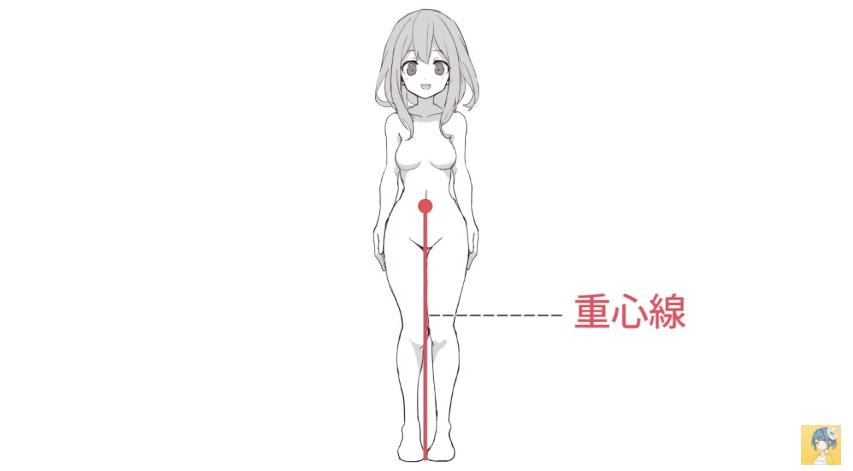 動きのあるポーズをマスターする!キャラクター講座|マンガ・イラストの描き方講座:お絵描きのPalmie(パルミー)_-_YouTube 6