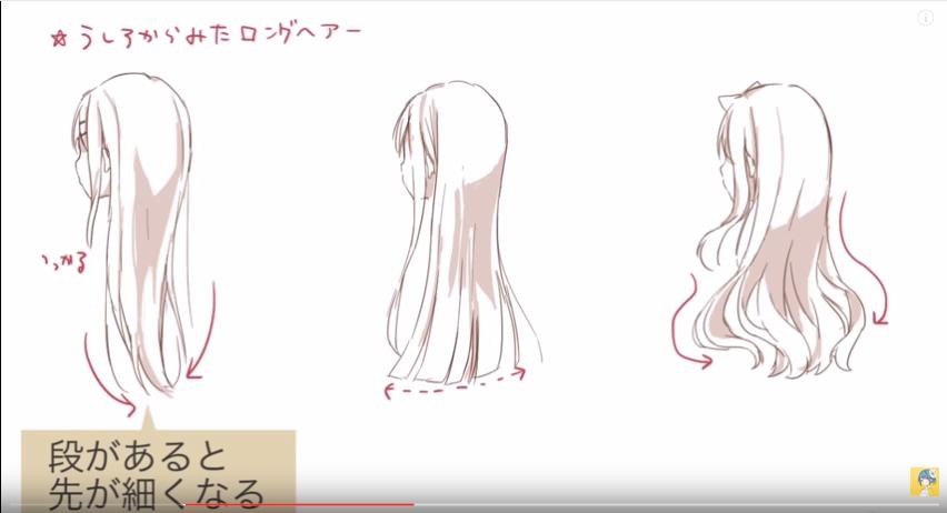 キャラクターの個性を演出するおすすめなコツ!髪の描き方